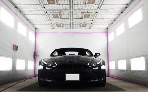塗装の品質を維持するクリーンルーム塗装ブース
